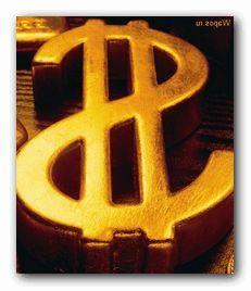 деньги золото